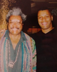 Arnold with legendary boxing promoter Don King